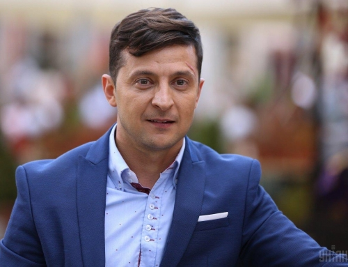 Covert influence analysis in Zelensky's speech after exit polls