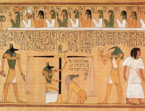 Уровень психологического давления в Египетской «Книге Мёртвых». Глава о том, как телу умершего войти в инобытиё в день погребального обряда.
